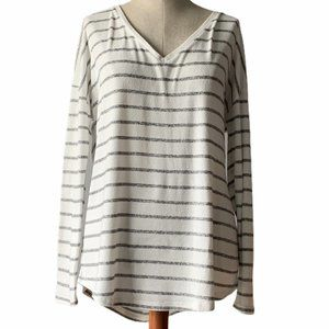 A New Day V Neck Striped top